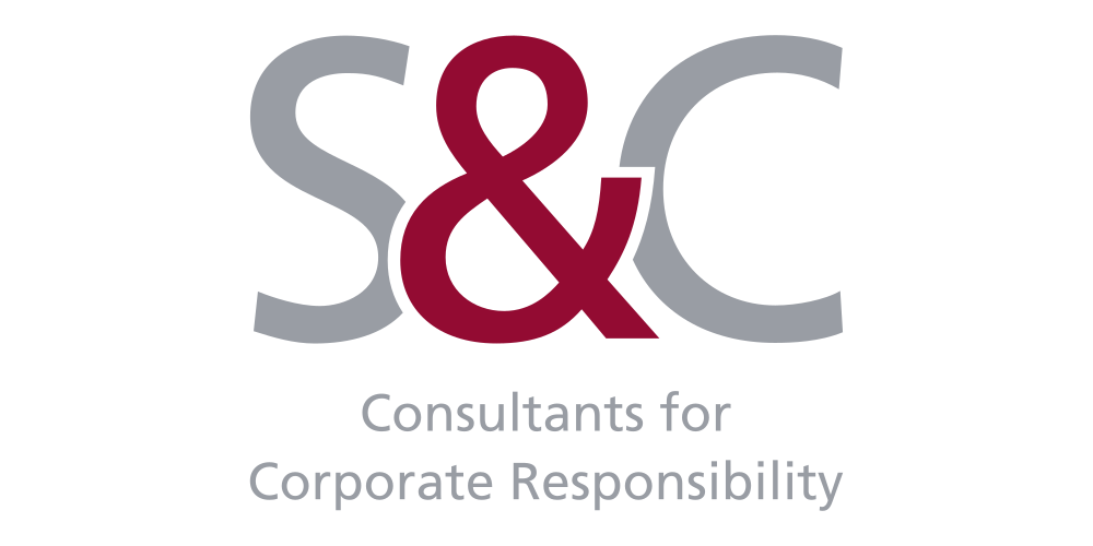 Logo - S&C - Consultants for Corporate Responsibility