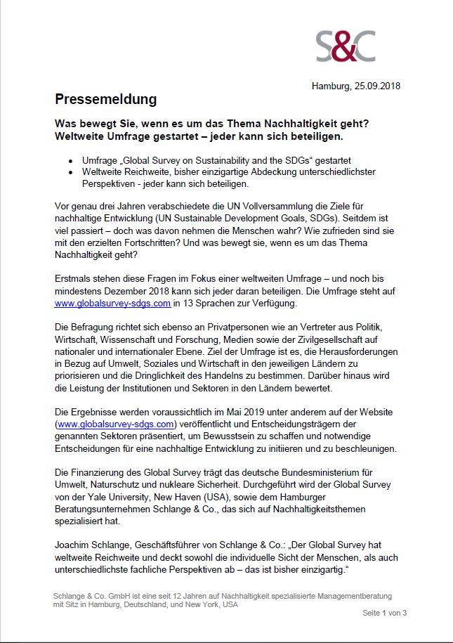 Press Release German