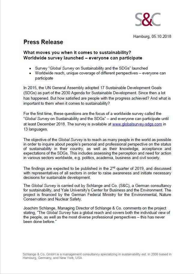 Press Release Global Survey English (05.10.2018)