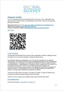 Global Survey Outreach Toolkit (Deutsch)