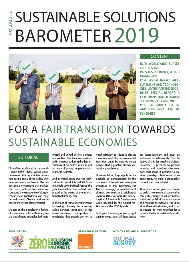 Sustainable Solutions Barometer